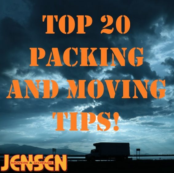 Top 20 Packing & Moving Tips
