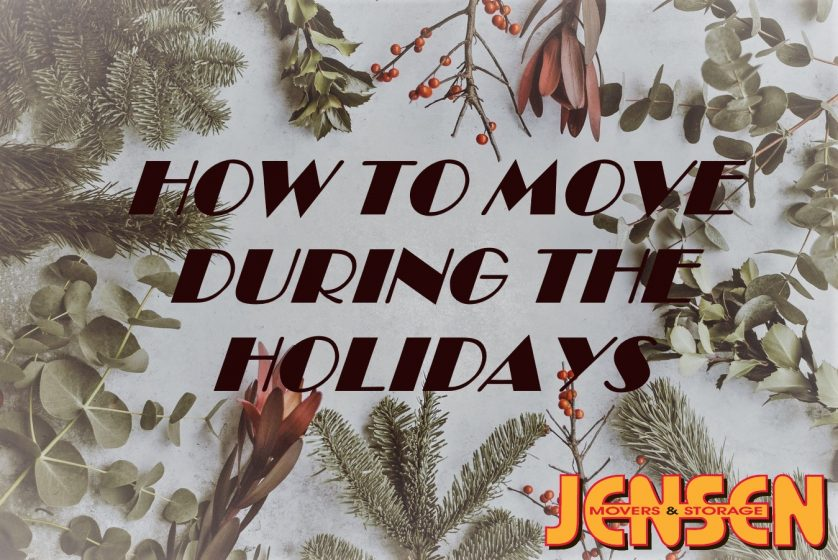 How to Move During the Holidays