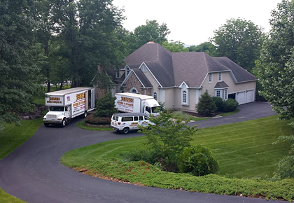Moving companies in Montgomeryville, PA