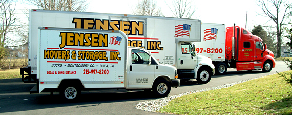 Moving companies in Montgomeryville, PA.